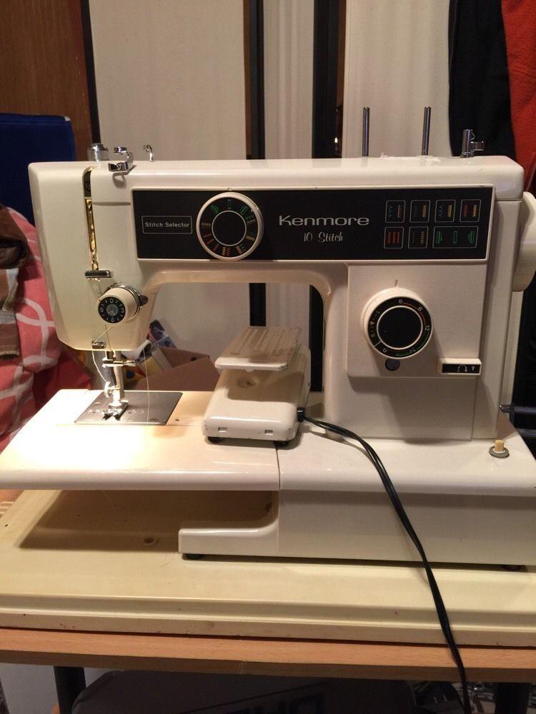 40HOUR PRICE DROPKenmore 40 Stitch Sewing Machine Model 40 Amazing Kenmore Sewing Machine 385 Price