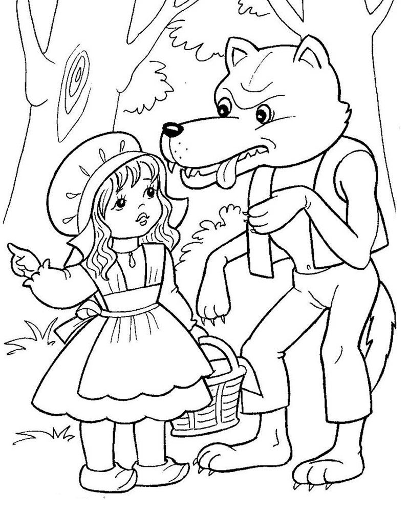 Pin By Sendy On Rozprávky Fairy Tales Coloring Pages