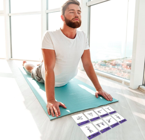 yoga cards so you can spice up your morning afternoon or