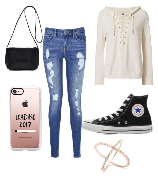 """Sans titre #9"" by giuliavincent on Polyvore featuring mode, NSF, Tommy Hilfiger, Converse et Casetify"