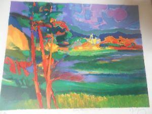 marcel mouly le bel ete 15x19 ea proof handsigned marcel art