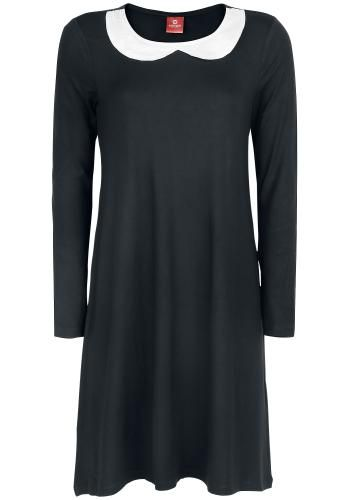 Dark Night Dress - Medium-lengte jurk van Pussy Deluxe