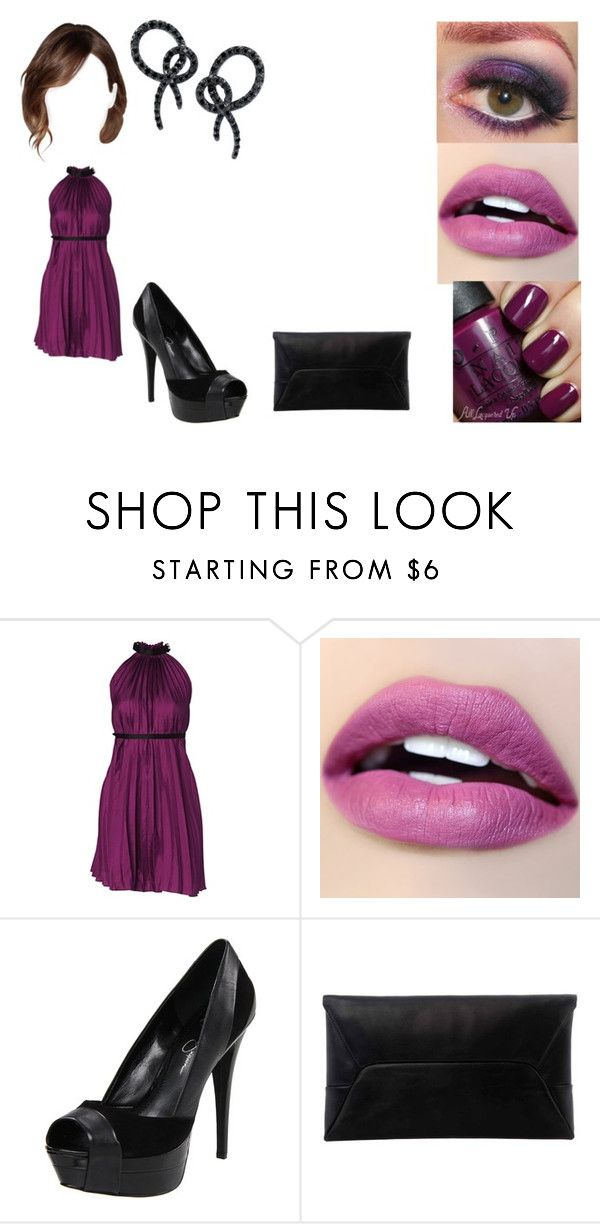 """""""Senza titolo #1506"""" by cavallaro ❤ liked on Polyvore featuring Lipsy, Jessica Simpson, Marc by Marc Jacobs and Anna Hu"""