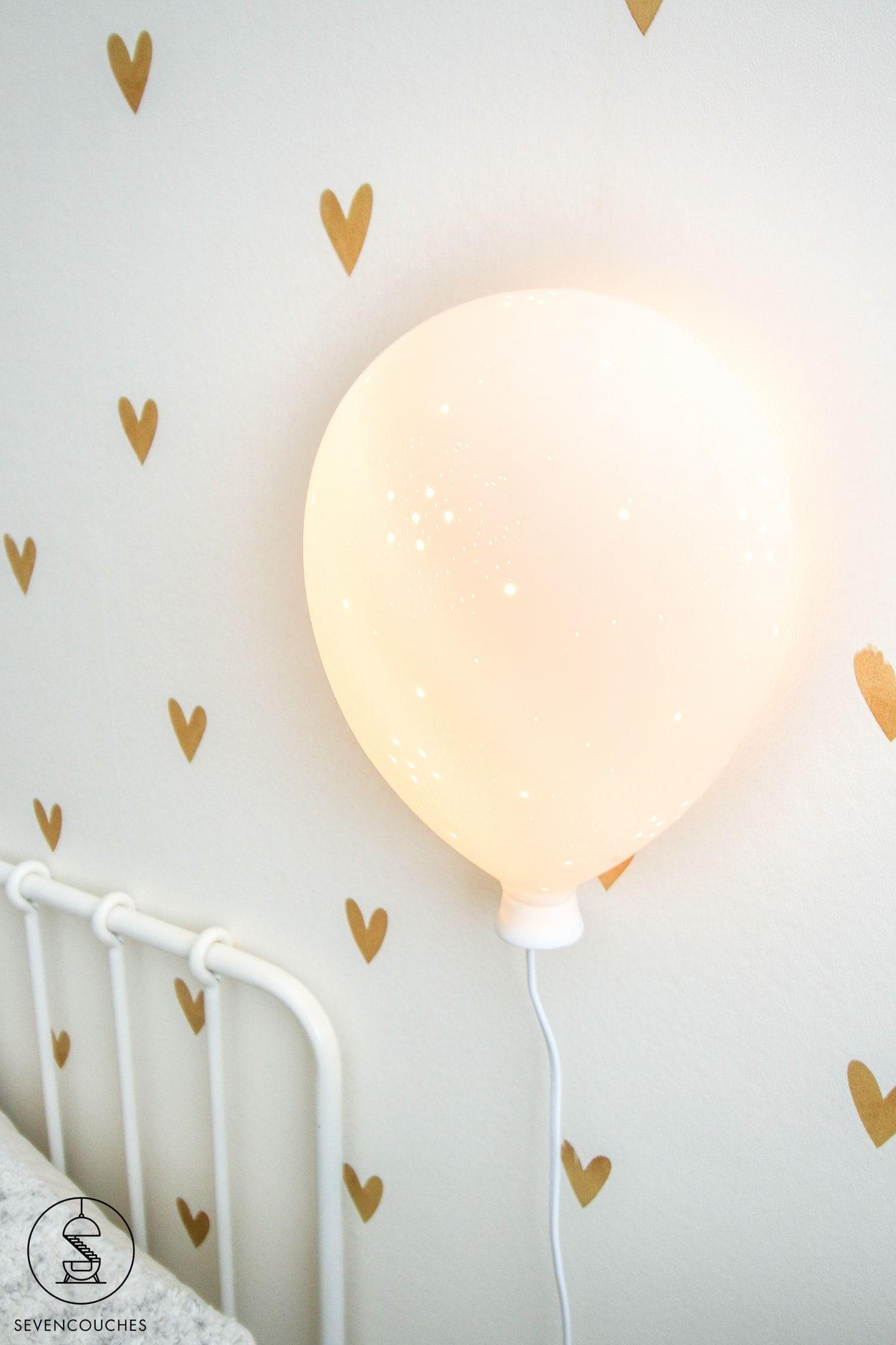 Lucide Balloon Wandlamp Kinderkamer 1xe14 Wit Peuterkamer Meisjes Lampen Kinderkamer Kinderkamer
