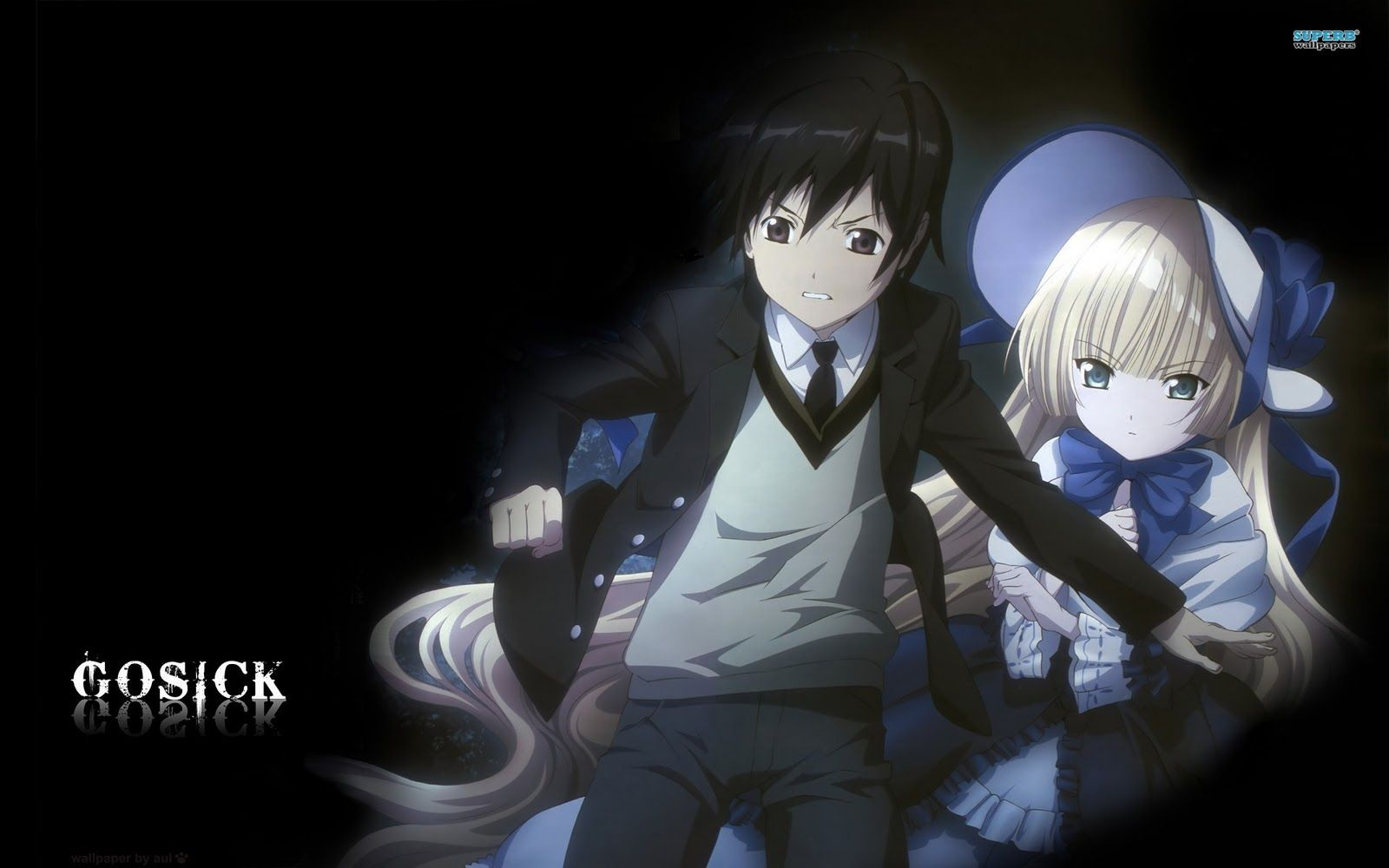 Kujo and Victorique Gosick Anime, Anime romance, Anime