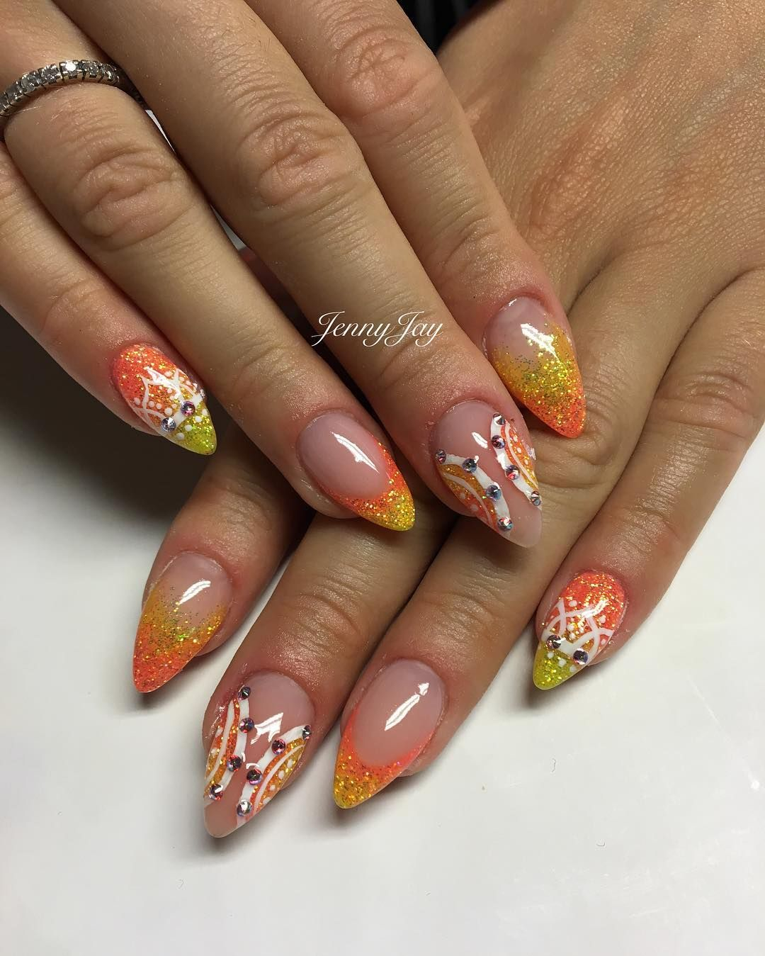 See this Instagram photo by @jennyjaynails • 1 like | Nail ...