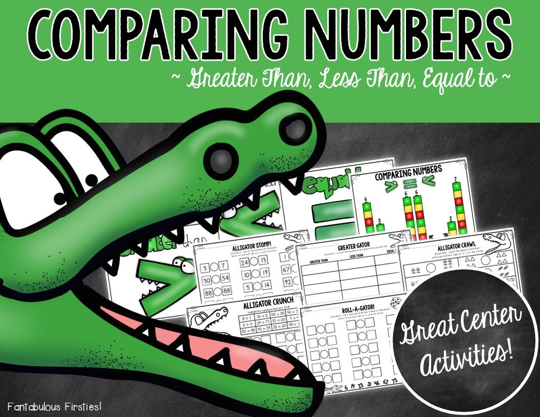 Comparing Numbers Activities And Worksheets
