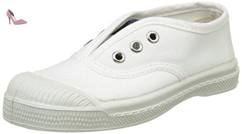 Bensimon Tennis Elly Bicolor, Baskets Basses Fille, Blanc (Blanc), 35 EU -  Chaussures bensimon (*Partner-Link) | Chaussures Bensimon | Pinterest | Bass,  ...