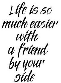 Thanks For Always Being By My Side Friends Friends Friendship