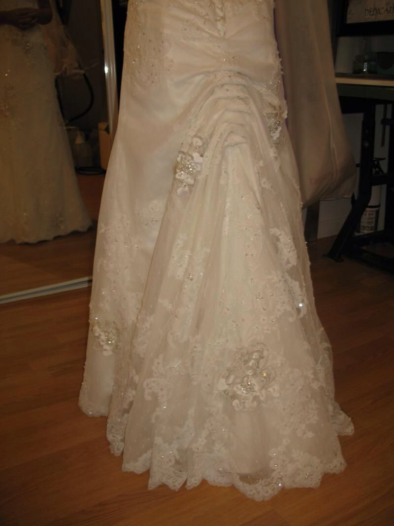 Austrian Bustle My Disney Wedding In 2019 Wedding Gown Bustle