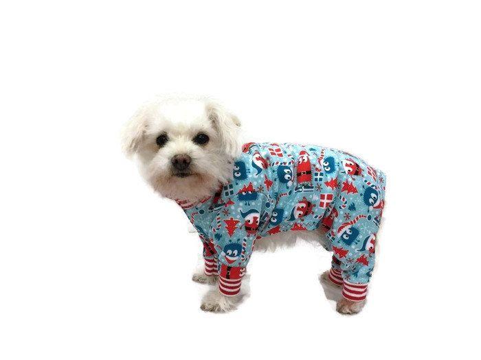 Christmas Pajamas For Dogs.New Ooga Booga Christmas Dog Pajamas Dog Clothes Dog