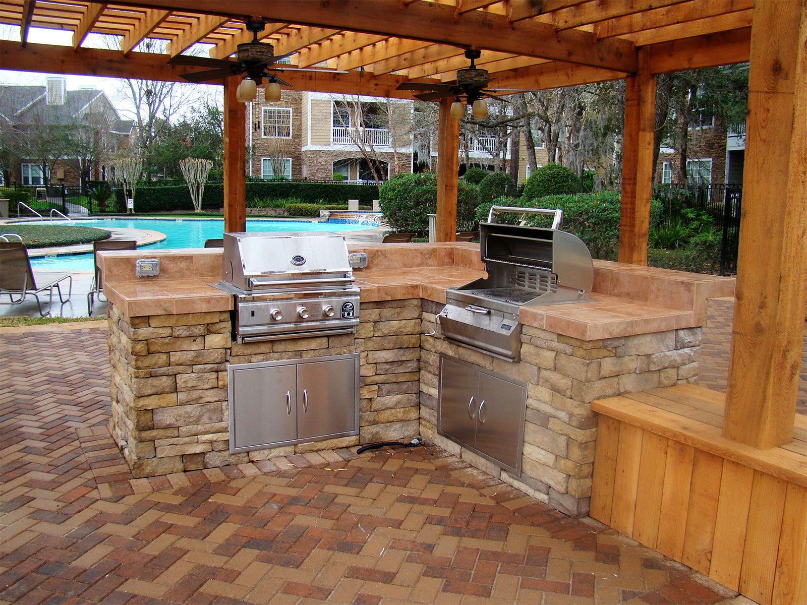 Gentil Http://www.deltaangelgroup.com/wp Content/uploads/2014/03/kitchen Design  Backyard Kitchen | Backyard Ideas | Pinterest | Backyard, Kitchens And  House