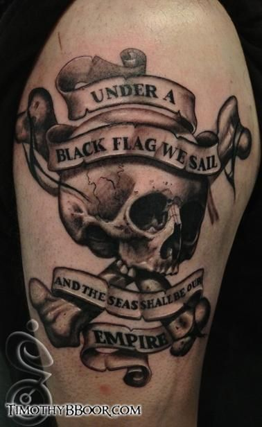 afficher l 39 image d 39 origine tatoue tatuagem tatuagem pirata et tattoo caveira. Black Bedroom Furniture Sets. Home Design Ideas