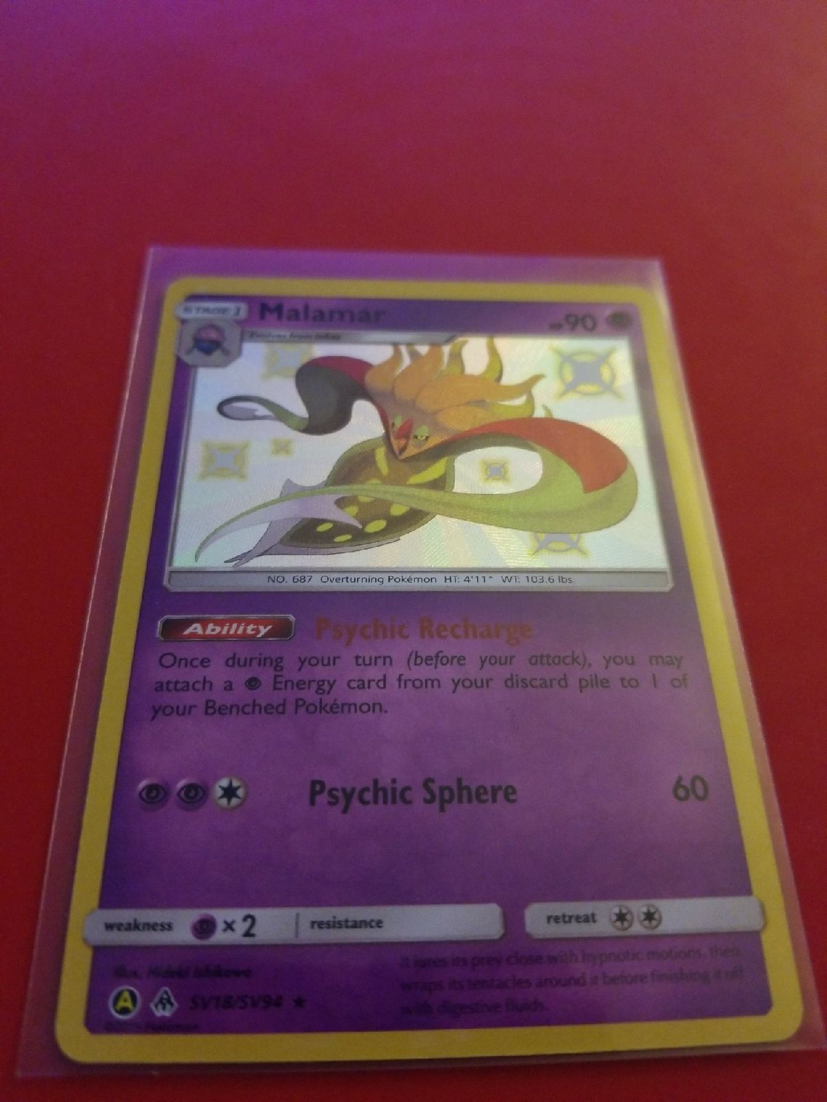 Pack Fresh Mint Pokemon Cards Oranguru SV44//SV94 Hidden Fates Shiny Vault