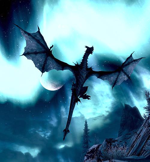 Skyrim Dragones Tatuajes Dragones Criaturas Mitologicas