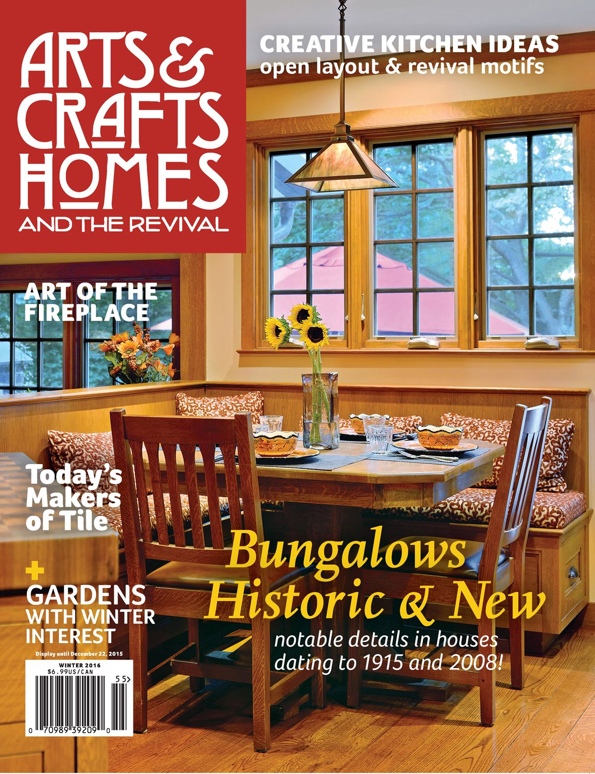 Magazine And Newsletter Arts Crafts Homes Winter 2016