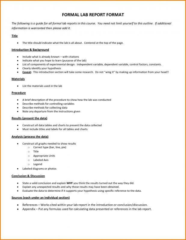 Formal Lab Report Template Beautiful 28 Lab Report Templates Pdf Google Docs Word Apple In 2021 Lab Report Lab Report Template Report Template