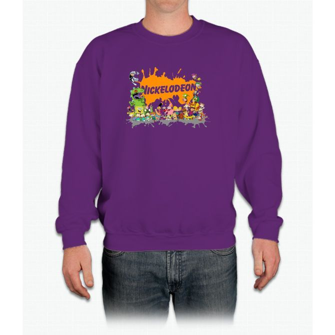 Ultimate Nickelodeon Nicktoons Crewneck Sweatshirt