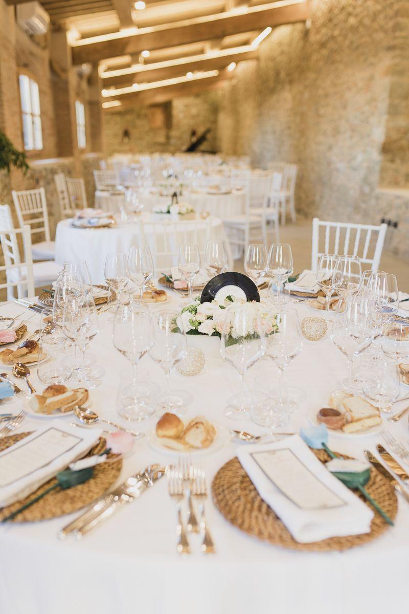 Centrotavola Matrimonio Tema Dolci : Colori pastello per un matrimonio ispirato alla musica tema