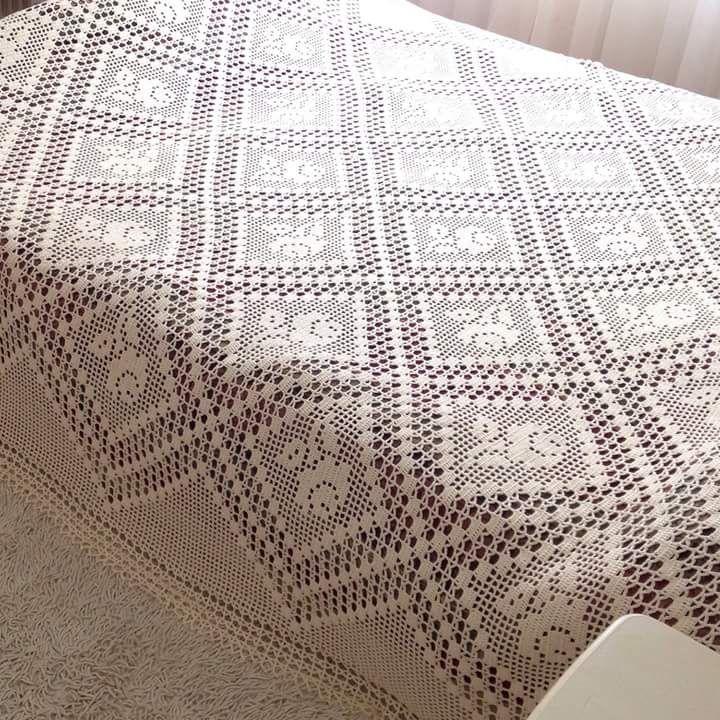 La técnica al crochet es ideal para tejer preciosas colchas. Hoy ...