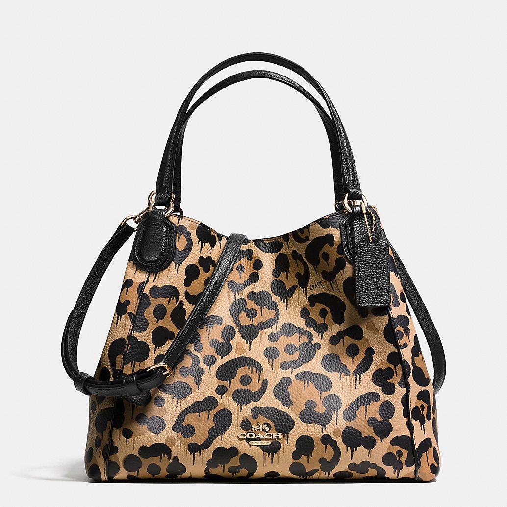 AHHH LOVE LOVE THIS BAG!!!!!! Edie Shoulder Bag 28 in Wild Beast Print Leather