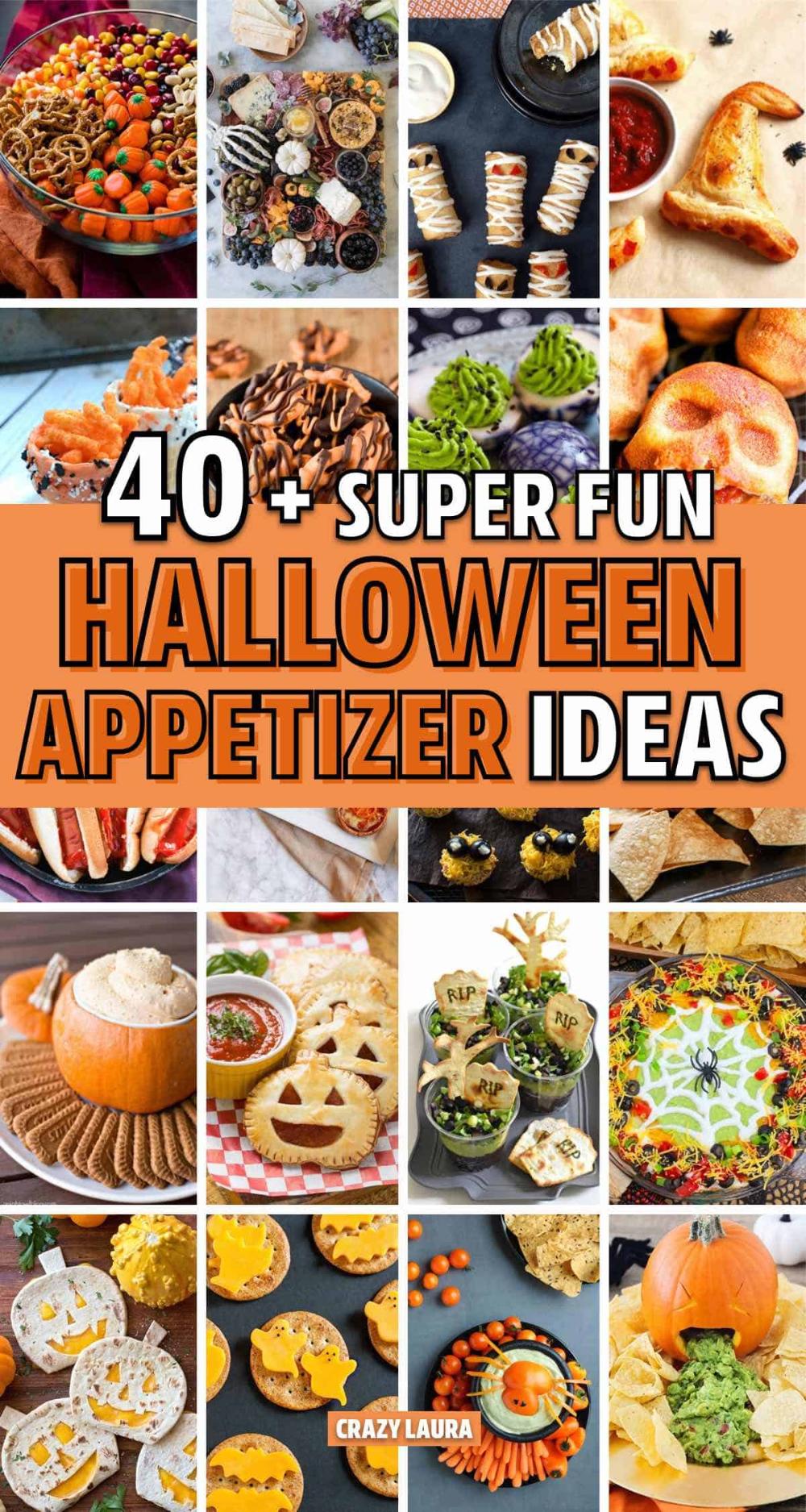 Halloween Appetizers 2020 40+ Best Halloween Appetizer & Snack Ideas For 2020   Halloween
