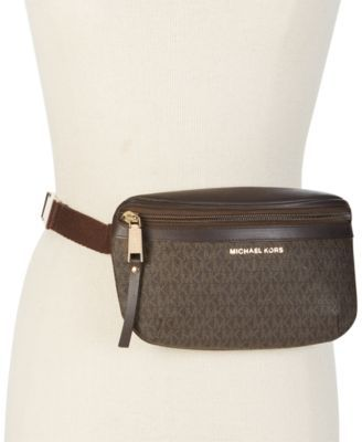 80ca0ad23e56 MICHAEL KORS Michael Michael Kors Logo Fanny Pack, Only At Macy'S. # michaelkors #bags #leather #belt bags #nylon #