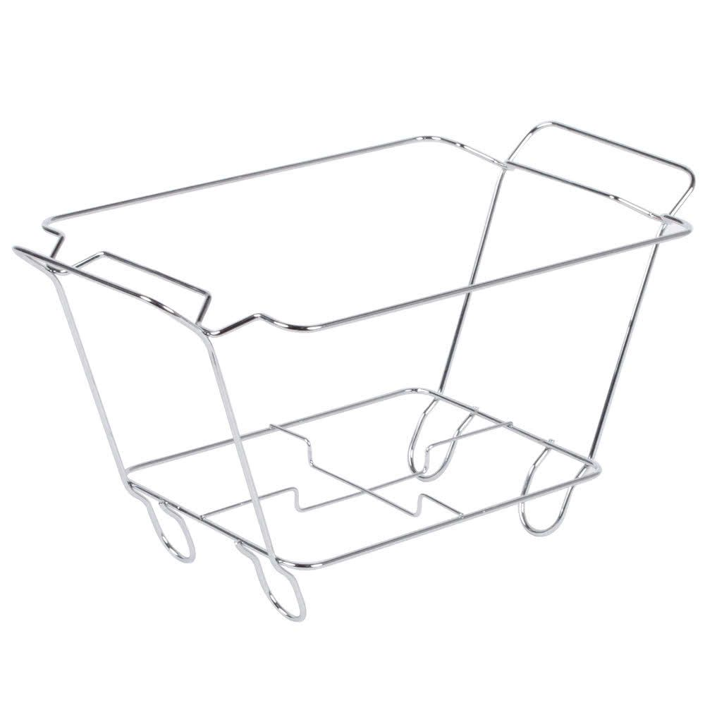 Chrome Wire Chafer Stand For 1 2 Size Disposable Pans Specialty Cookware Disposable Chrome