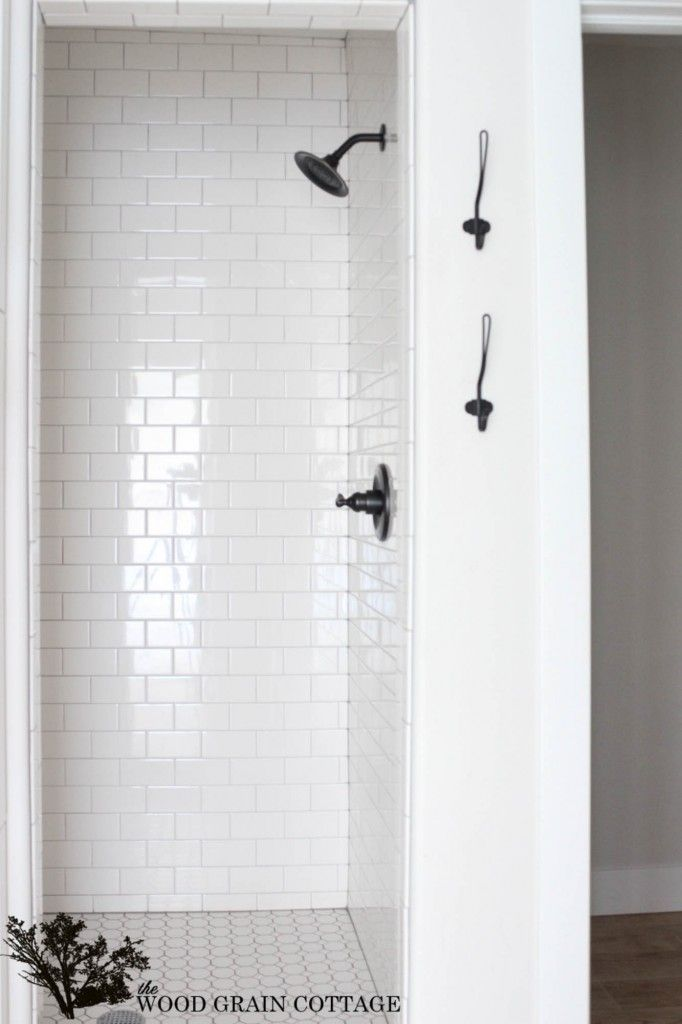 Fixer Upper Sources The Wood Grain Cottage Shower Remodel Bathrooms Remodel Bathroom Shower Tile
