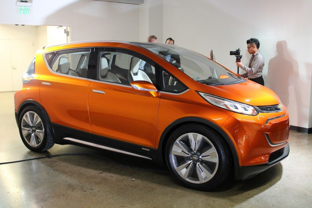 Chevrolet Bolt Ev In Production In The Year 2016 Electric Motor