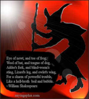 Exceptionnel Huge Collection Of Halloween Sayings, Quotes, Jokes And Slogans. On  Halloween, Witches Come True;