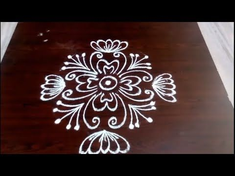 Rangoli Designs With 5 3 Dots Ll Easy Designs Ll Simple And Easy