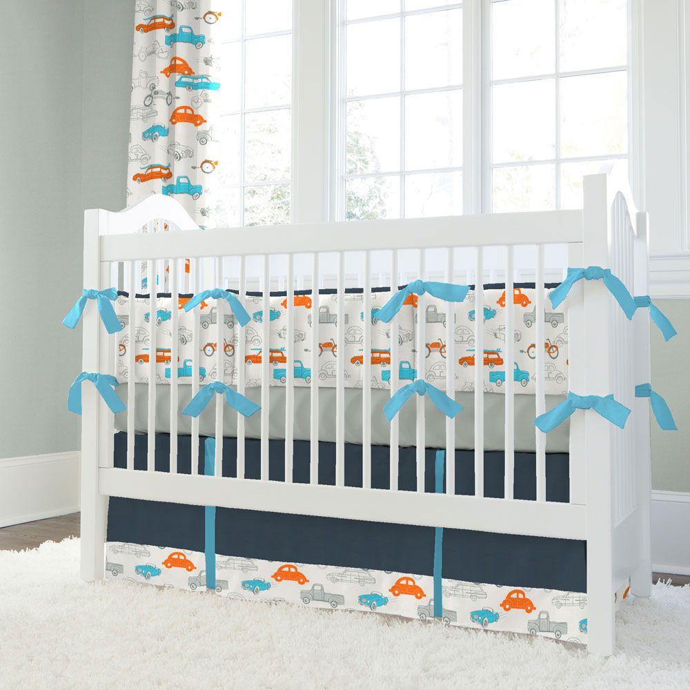 Carousel Designs babybedhead Giveaway Baby boy bedding