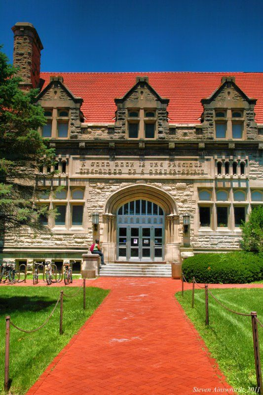 Franklin Hall Served As The Second Library In The History Of Indiana University Bloomington Indiana University Indiana University Bloomington Indiana
