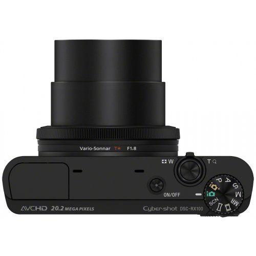 Elektronik: Sony DSC-RX100 Cyber-shot Digitalkamera (20 Megapixel, 3,6-fach opt. Zoom, 7,6 cm (3 Zoll) Display, lichtstarkes 28 - 100 mm Zoomobjektiv F1,8 - 4,9, Full HD, bildstabilisiert) schwarz: Kaufen Neu: EUR 549,00 [Germany]