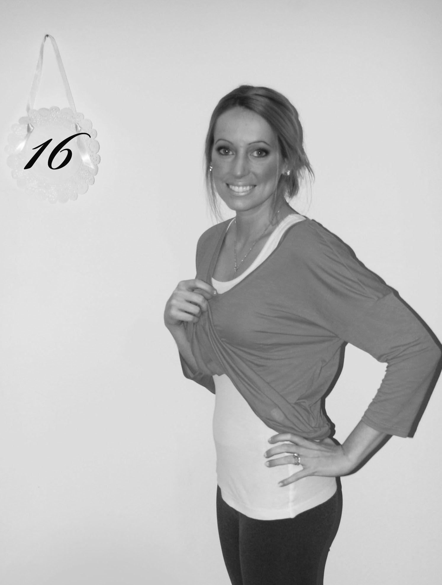 week 16 pregnancy belly