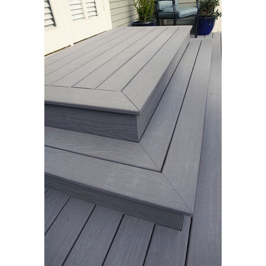 Beach House Decks: Shop ChoiceDek Foundations Foundations Beach House Gray