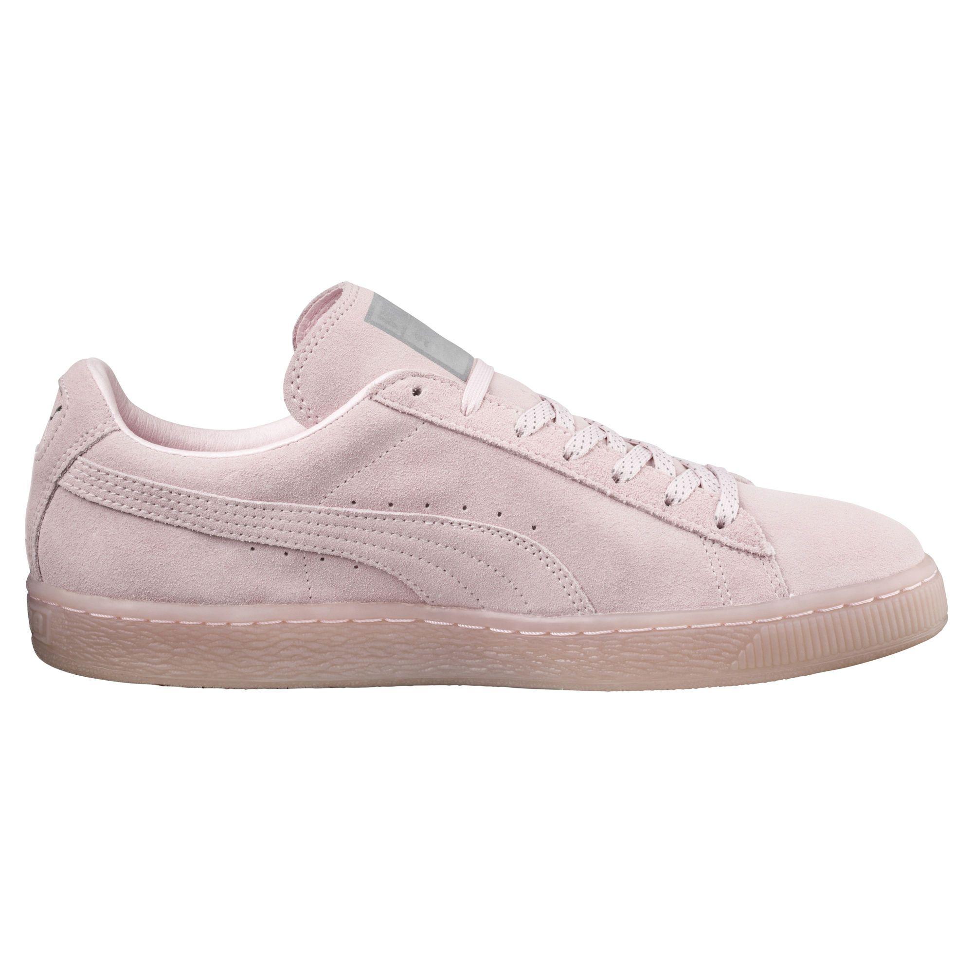97b0ed8289e4 Zapatillas Suede Classic Mono Ref Iced - Color pink dogwood-puma silver