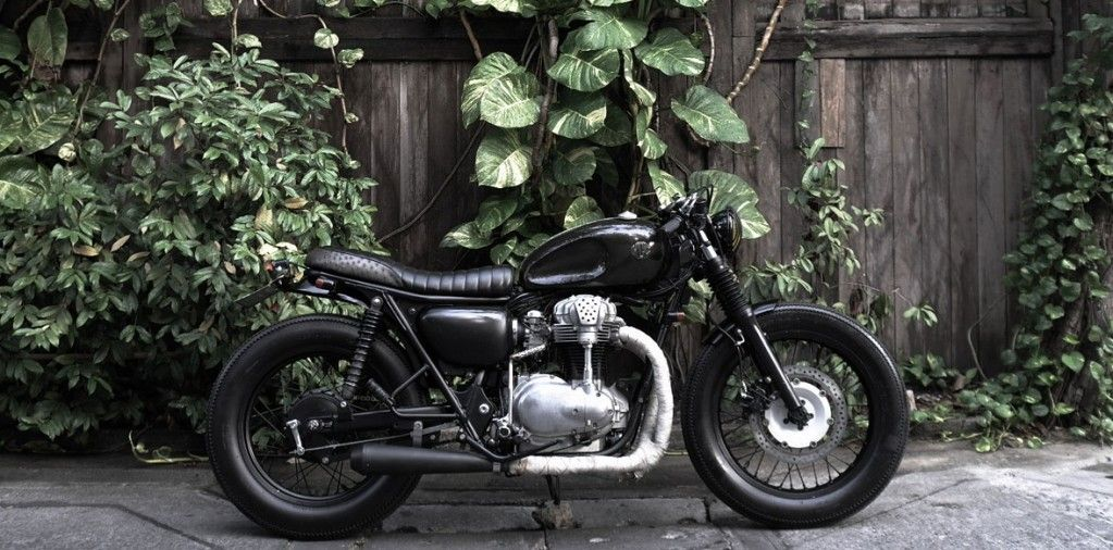Kawasaki W650 Cafe Racer The City Slickers By Half Caste Creations Motorcycles