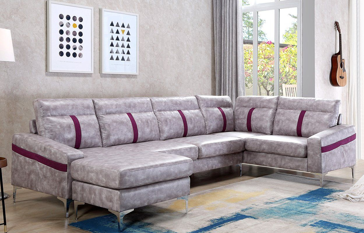 Harper and bright designs modern sectional sofa l shape couch with wide chaise check out this great product affiliate link sofa