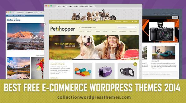 Free Responsive Ecommerce Wordpress Themes 2014