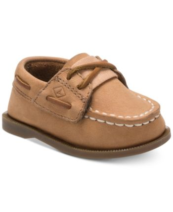 daaa3477eb7b Sperry Baby Boys Top-Sider Sahara Boat Shoes - Brown 4 Youth ...