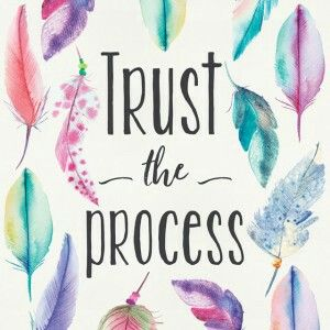 Trust The Process Quote Quotes Inspiration Quoteswordart