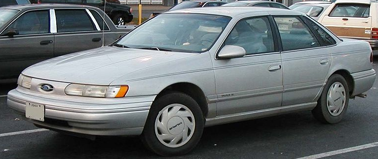 2nd Gen Ford Taurus Ford Taurus Sedan