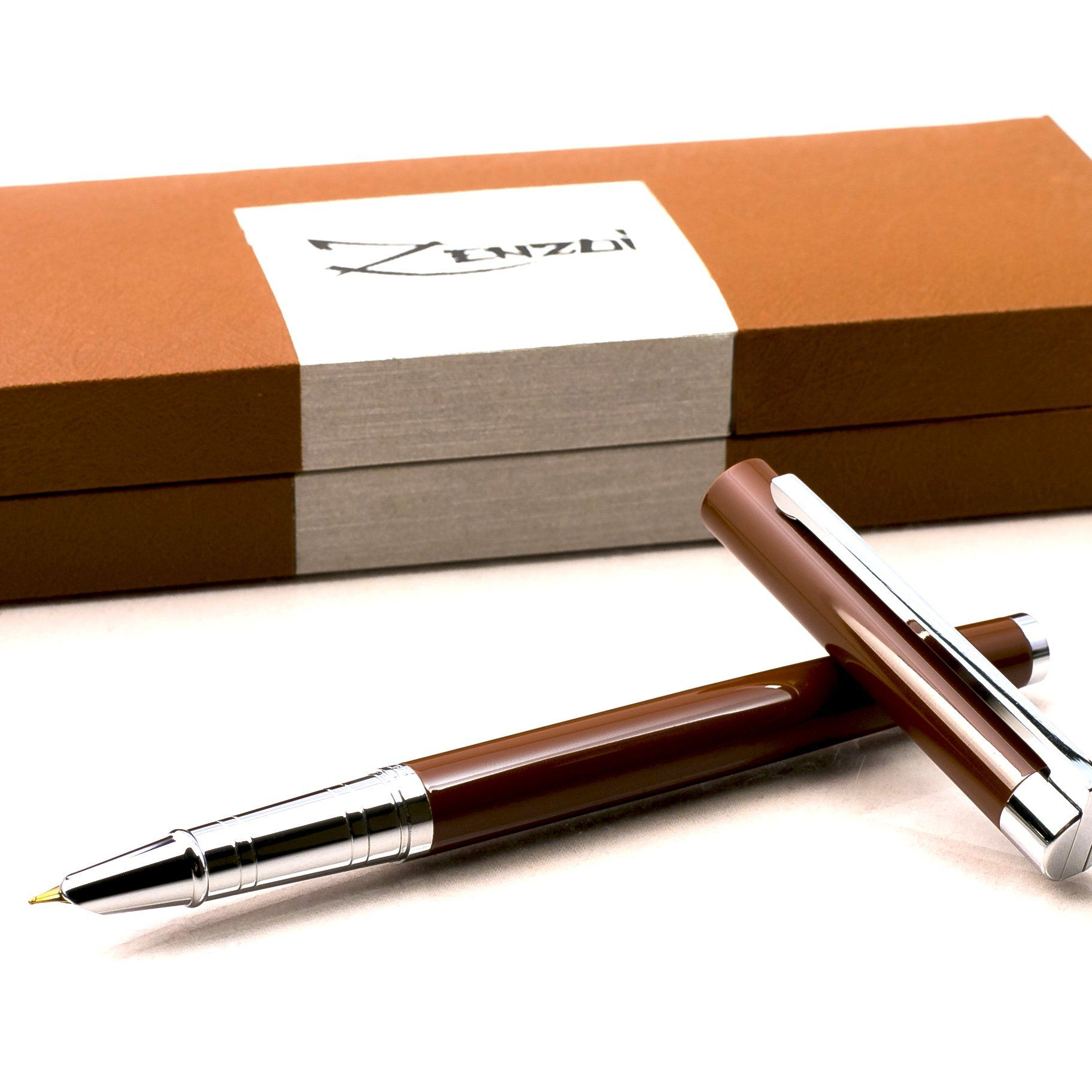 a1f2e4452fa4 Fountain Pen with Ink Refill Converter and Gift Box Timeless Classics  Collection Executive Writing Signature Calligraphy