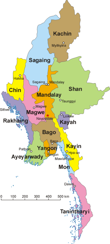 Map of Myanmar and its divisions, including Shan State ... Kachin State Myanmar Map on northern california state counties map, karen state myanmar map, kayin state myanmar map, northern part of united states map, mon state myanmar map, rakhine state myanmar map, chin state myanmar map,