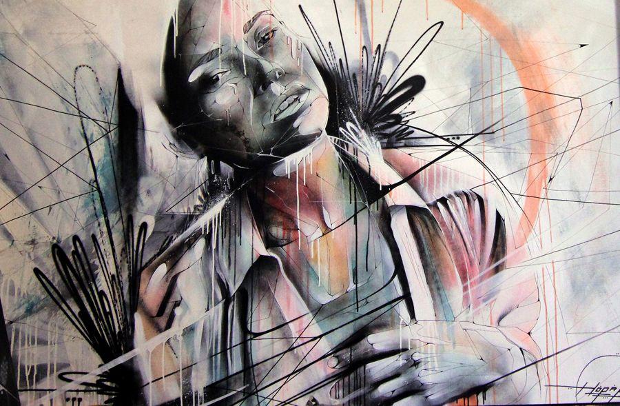 """""""Apaisement"""" by HOPARE #Street #Art"""