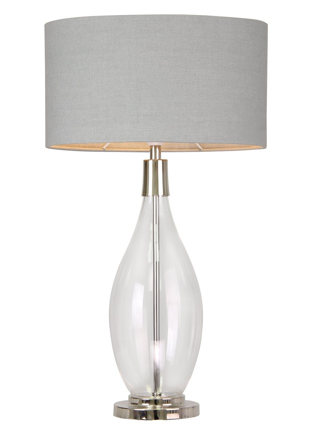 Hampstead Large Table Lamp H74cm X W42cm Grey Large Table Lamps Table Lamp Country Table Lamp