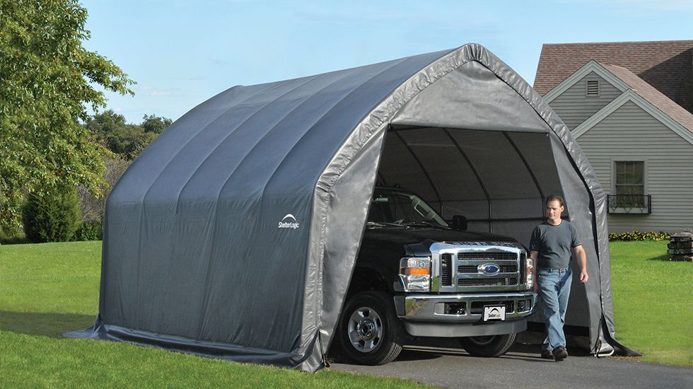 ShelterLogic 10 x 20 ft. Deluxe All Purpose Canopy Carport
