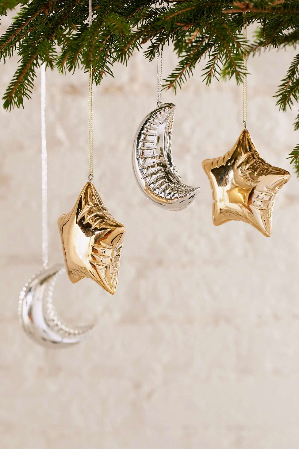 Moon And Star Balloon Ornament  Urban Outfitters  Christmas